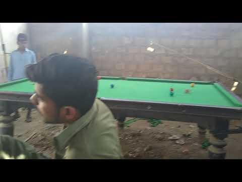 Ibrahim hyderi snoker club...