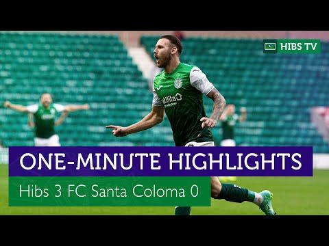 Hibernian FC Santa Coloma Goals And Highlights