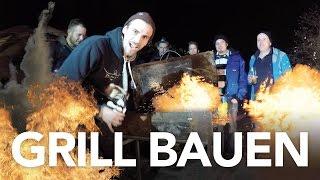 Grill bauen - Heimwerkerking Fynn Kliemann