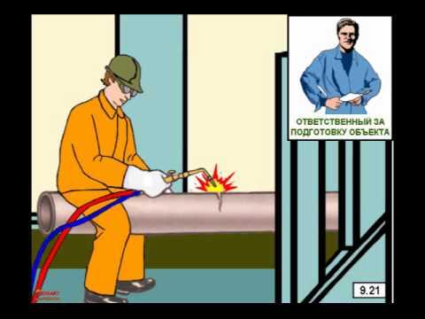 Учебный фильм Пожарная безопасность предприятий