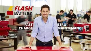 Flash Battery - Batterie al litio per macchine industriali e veicoli elettrici