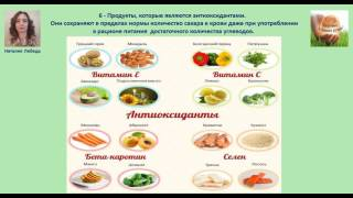 Видео № 7, питание при сахарном диабете, инсулинорезистентности и метаболическом синдроме. Лебедь Н.