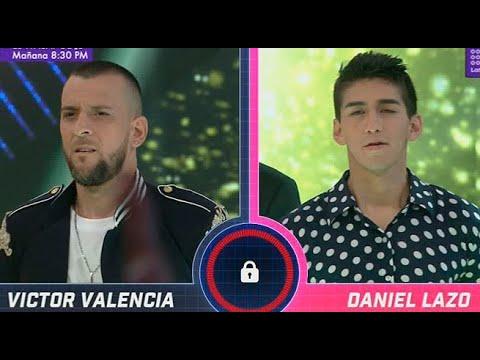 Daniel Lazo retuvo su silla de finalista ante Víctor Valencia