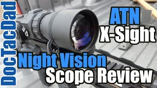 ATN X-Sight HD 5-18X - Scope Review - Affordable Night Vision!