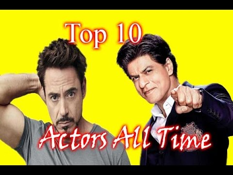 World Top 10 Actors All Time 2017 // Top 10 Facts