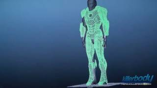 Killerbody Iron Man Mark 7 Full Armor Suit up and High Technology Factory Visit