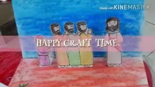 Bahan Kreativitas Sekolah Minggu--Cara membuat buku mini dag cerita/HOW TO MAKE MINIBOOK