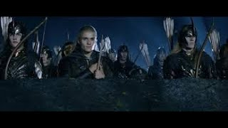 Сцены властелина колец Две крепости в игре The Lord of the Rings - The Battle for Middle-Earth