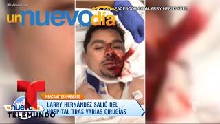 Baixar ¡Larry Hernández tuvo un accidente y está en el hospital!   Un Nuevo Día   Telemundo