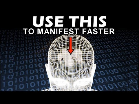 One Subconscious MIND TRICK to Help You MANIFEST WHAT YOU WANT FASTER! (Law of Attraction)