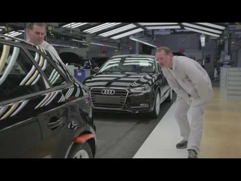 2017 Audi A3 Official Factory Production