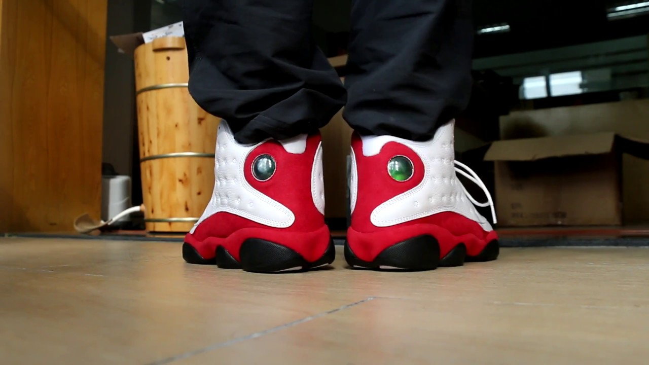 meilleure vente populaire Air Jordan 13 Chicago Rétro Sur Les Pieds jeu pas  cher r181LIK