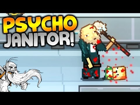 "Kindergarten Gameplay - ""PSYCHO JANITOR!!!""  - Let's Play Walkthrough"