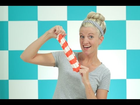 How to sew with Knit Fabrics + How to make simple Headbands