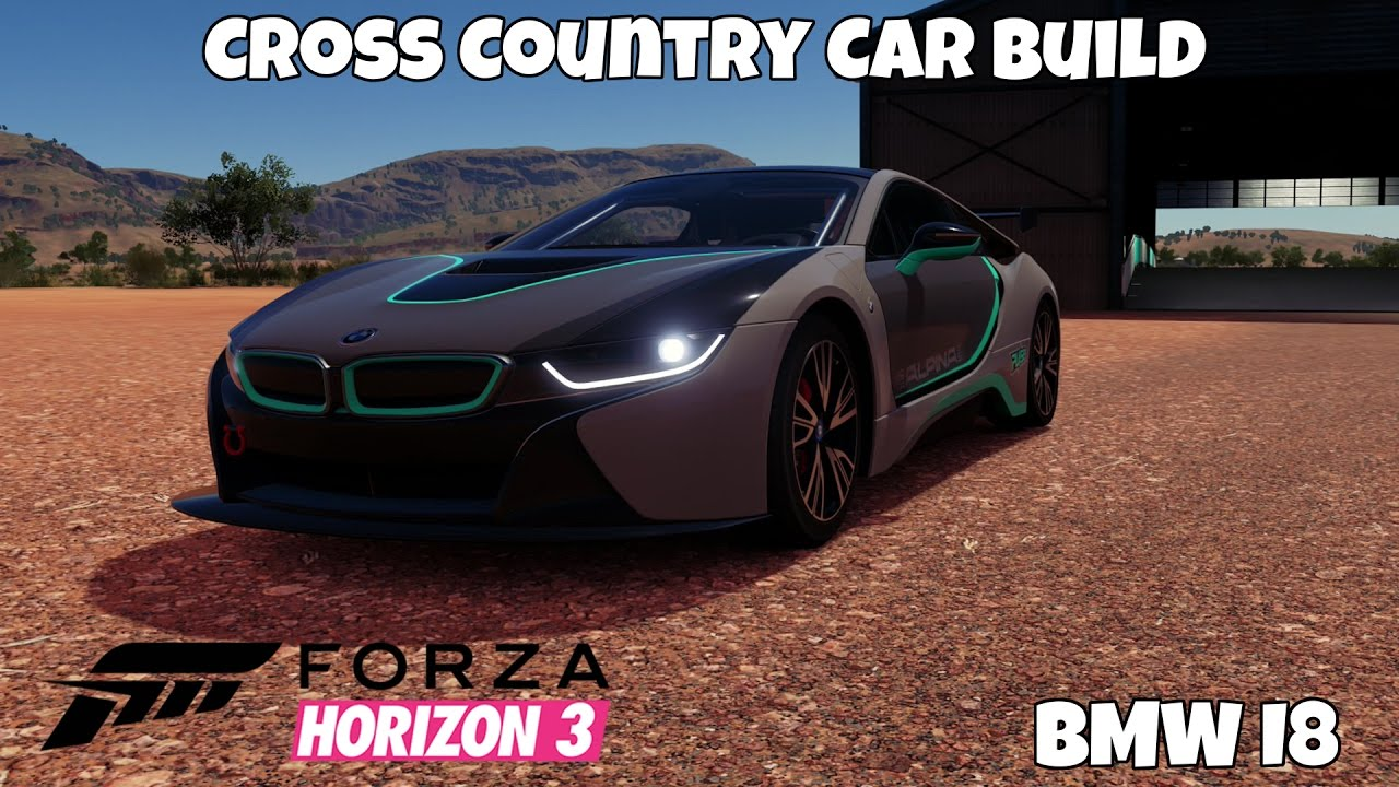 Forza Horizon 3 BMW i8