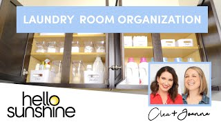 How to Organize your Laundry Room  with The Home Edit | Master the Mess EP 1