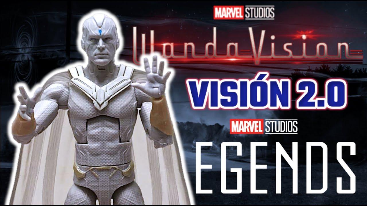 Marvel Legends - VISIÓN BLANCO 2.0 | WandaVision - Reseña de Figura Hasbro (2021) Serie Disney +