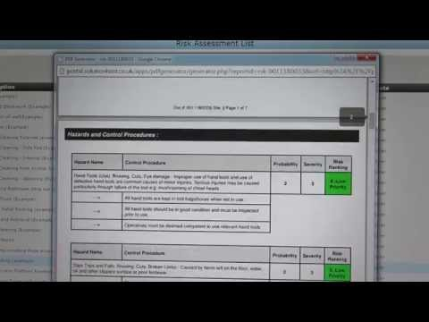 DIY Health and Safety System Manage your Health and Safety Online