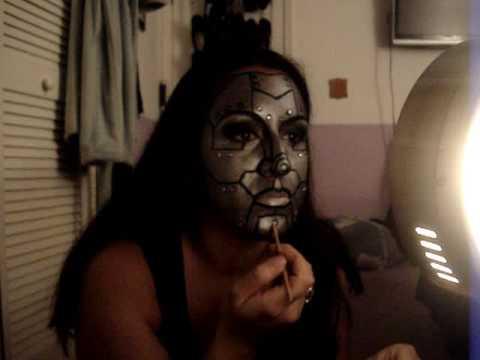 Liquidschwarrtz's Halloween Makeup: Metal Maven