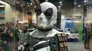 Marvel Tour of the Sideshow Booth at San Diego Comic-Con 2018