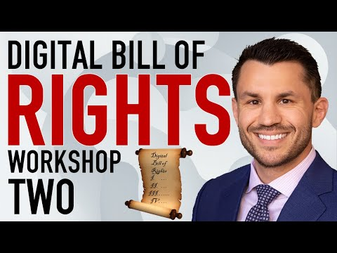 Digital Bill of Rights Workshop #2: State of Nature and Framework + Latest Impeachment News