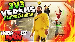 DROPPED OFF OVO RAPPER PARTYNEXTDOOR IN NBA 2K19 MYPARK! thumbnail