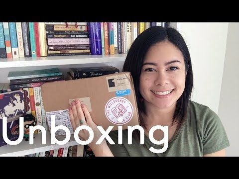 Willoughby Book Club Unboxing