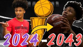 MIKEY WILLIAMS ENTIRE CAREER SIMULATION! THE NEXT CP3?!? NBA 2K20