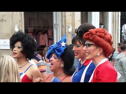 Edinburgh Fringe Festival Street Performers 2016