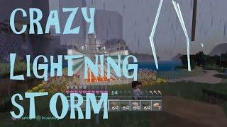 MINECRAFT: PS4 - CRAZY LIGHTNING STORM   ClownBabies2021