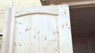 Дверь заводская 70х200 мм филенчатая(Производим и продаём дачные деревянные бытовки. Используем качественный материал. Посмотрите наш сайт:..., 2015-06-06T18:44:38.000Z)