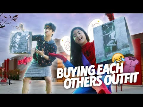 Buying Each Others Outfit | Ranz and Niana