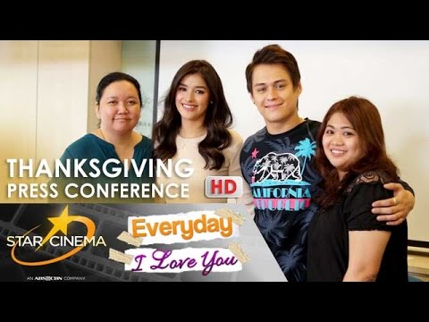 FULL: 'Everyday, I Love You' Thanksgiving Press Conference | Enrique Gil | Liza Soberano