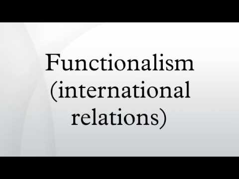 Functionalism (international relations)