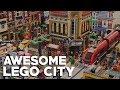 HUGE LEGO CITY LAYOUT // 2017 Update