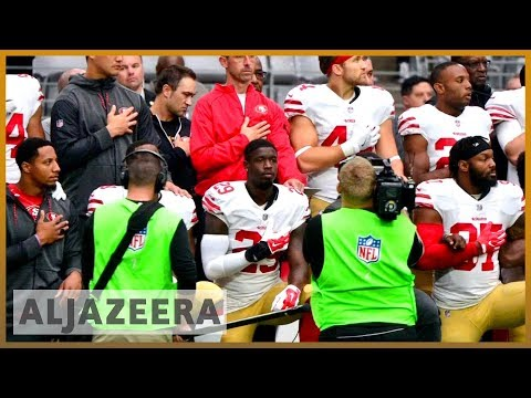 🏈 US: NFL to fine teams if players refuse to stand for anthem | Al Jazeera English