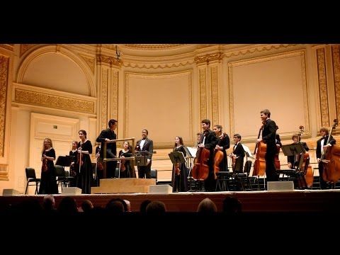2013-2014 NHS Chamber Orchestra at Carnegie Hall