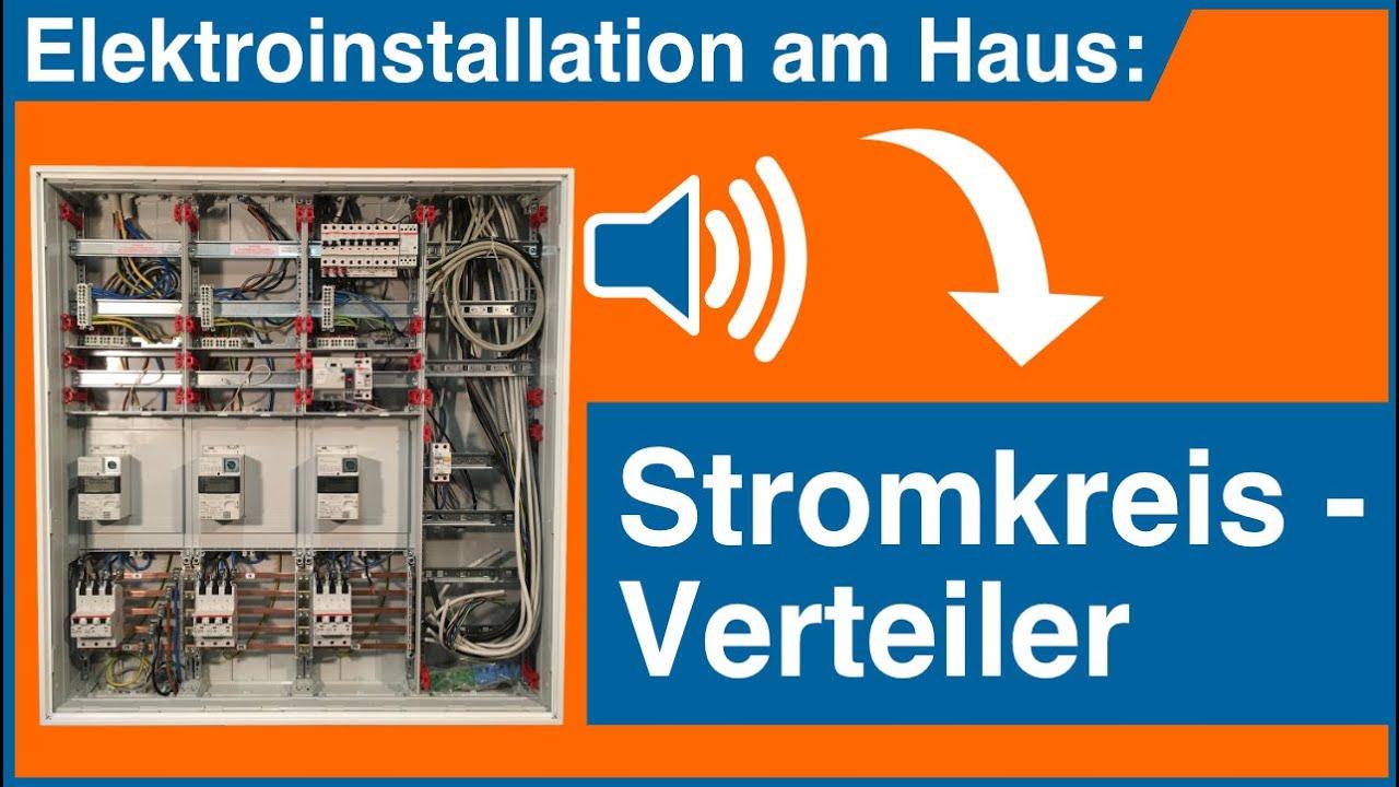 Elektroinstallation Stromkreisverteiler ➤  Elektro Guide Quick Tipp