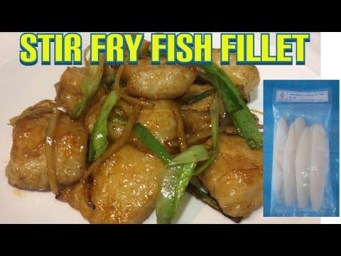 Stir Fry Fish Fillet Simple Recipe