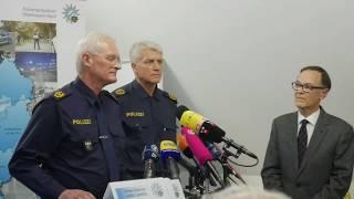 Polizei Pressekonferenz Geiselnahme Pfaffenhofen 2017