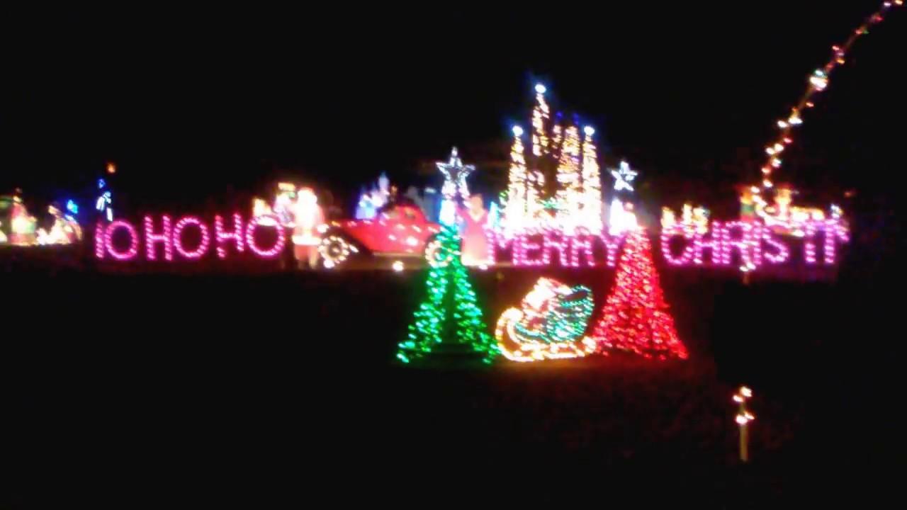 Gaddy's Christmas Lights Vlog #6 - YouTube
