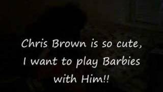 A three year olds love for Chris Brown