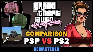 GTA Vice City Stories - PSP VS PS2 [In-depth Comparison]
