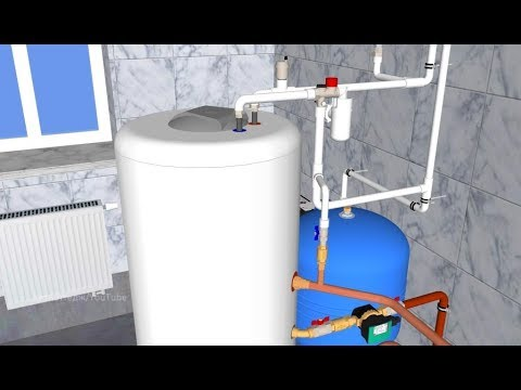 Обвязка бойлера / Рециркуляция горячей воды