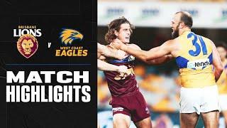 Brisbane V West Coast Highlights | Round 3, 2020 | Afl