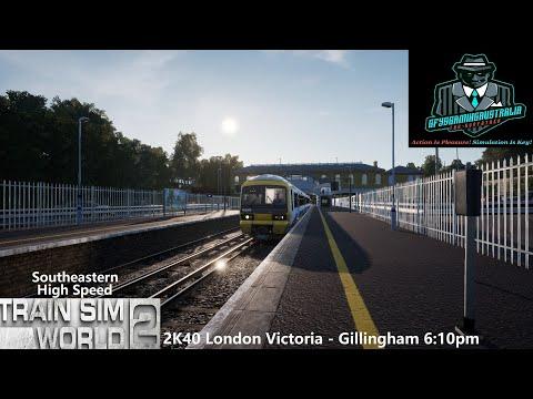 Train Sim World 2 2K40 London Victoria - Gillingham 6:10pm Southeastern High Speed |