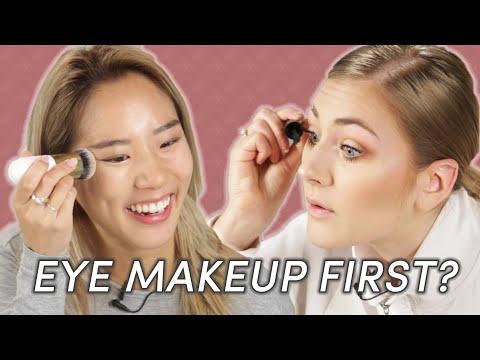 Foundation và Eye Makeup: bạn làm gì trước?