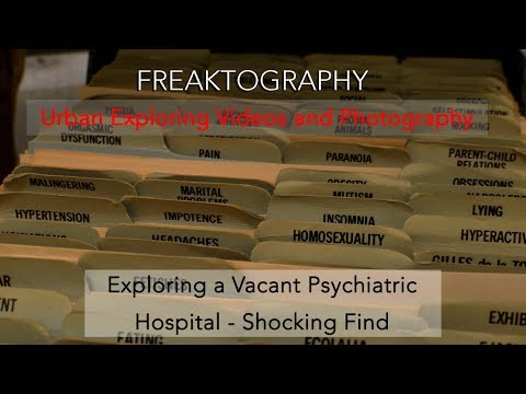 Abandoned Psychiatric Hospital Video with Shocking Find in Hidden Library