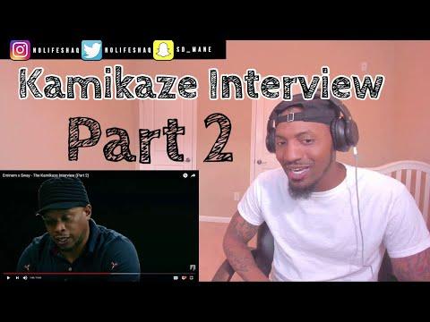 Eminem said Rap Devil was good for MGK lol!  | The Kamikaze Interview (Part 2) REACTION