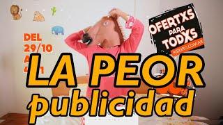 La PEOR publicidad: Ofertxs para todxs - Minicuotas Ribeiro